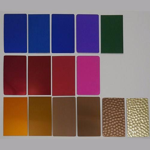 Painted aluminum sheet