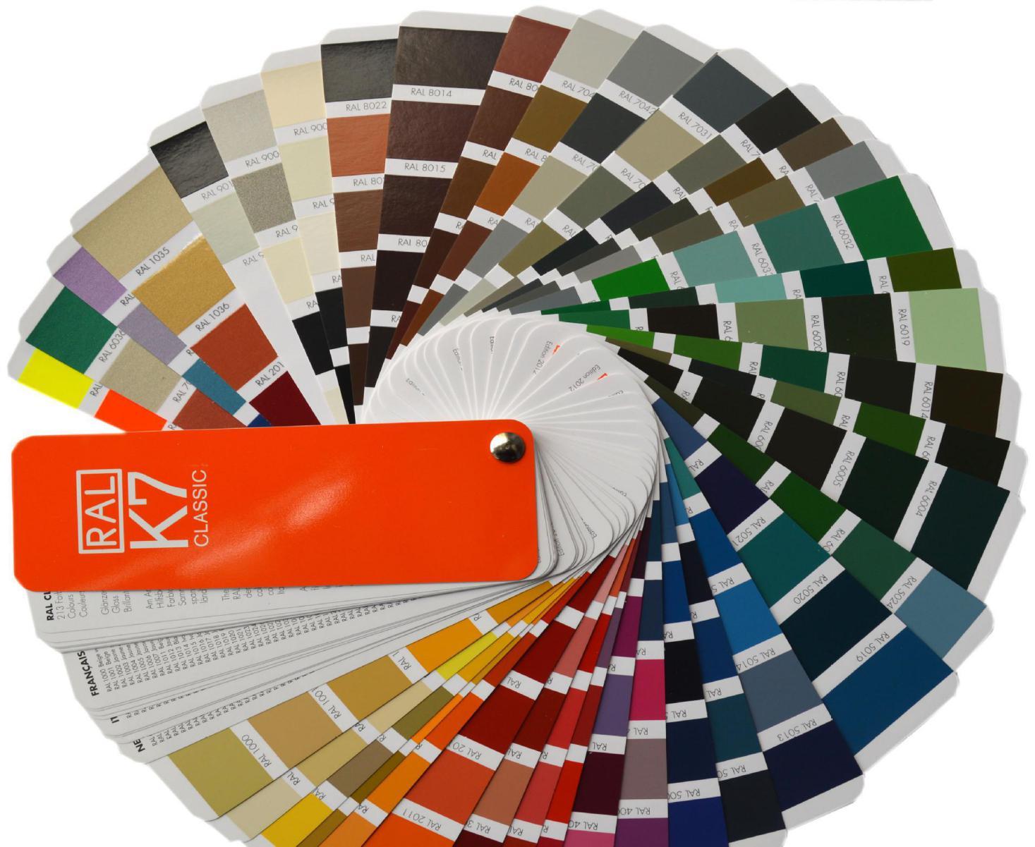 Color aluminum samples