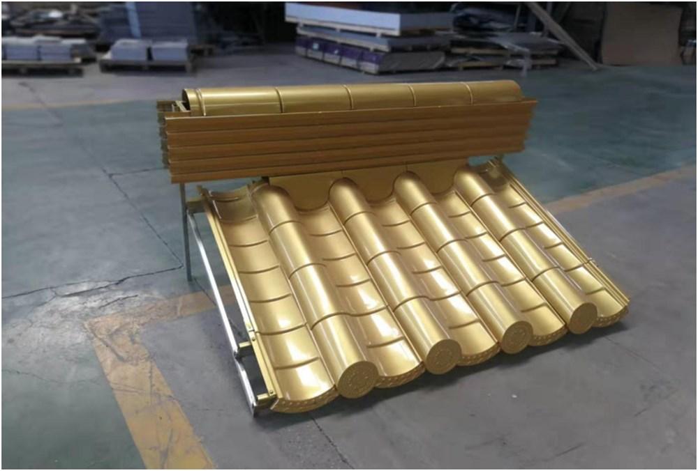 Aluminum tile